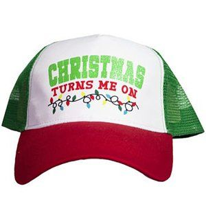 Christmas Lights Turn On Funny Hat